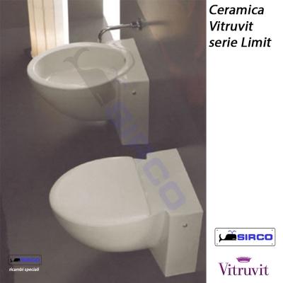 Per vaso vitruvit sirco sas arredo bagno biella piemonte for Arredo bagno biella
