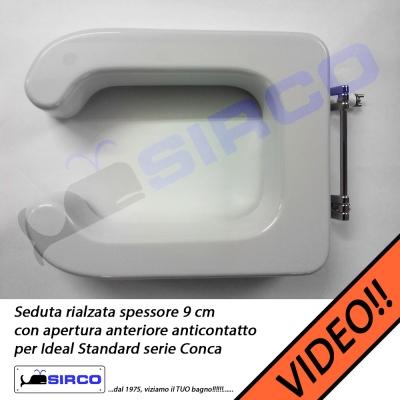 Conca rialzo senza coperchio varianti ideal standard for Conca ideal standard
