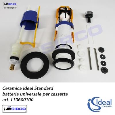 Meccanismo Di Scarico Cassette Wc Monoblocco In Ceramica.Ideal Standard Batterie Per Cassette Sedili Per Wc Ricambi Batterie