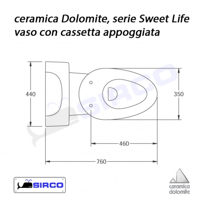 Ceramica Dolomite Sweet Life.Serie Sweetlife Scheda Tecnica Varianti Dolomite Sweetlife