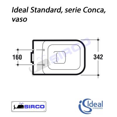 Serie conca scheda tecnica varianti ideal standard conca for Ideal standard conca