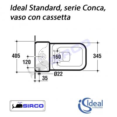 serie conca scheda tecnica varianti ideal standard conca