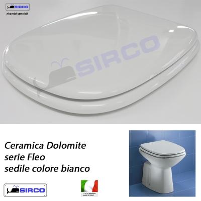 Sedile Wc Dolomite Fleo.Sedile Fleo Bianco Varianti Dolomite Fleo Sirco Sas Arredo Bagno