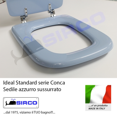 Wc scala ideal standard azzurro la migliore scelta di for Copriwater conca originale