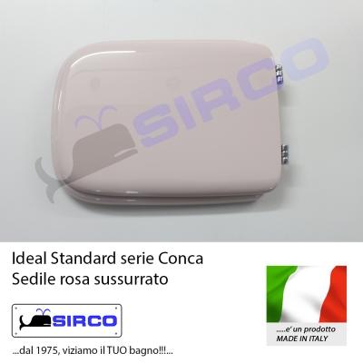 Sedile conca rosa sussurrato varianti ideal standard conca for Ideal standard conca visone