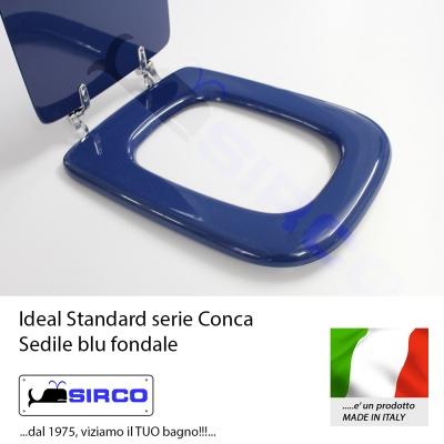 Sedile conca blu fondale varianti ideal standard conca for Ideal standard conca prezzo