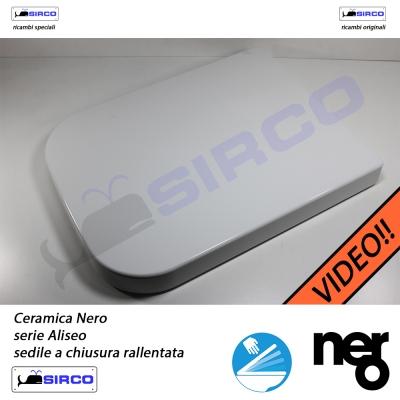 Nero Ceramica Aliseo Prezzi.Sedile Aliseo Rallentato Originale Varianti Nero Aliseo Sirco Sas