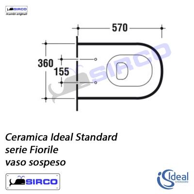 Serie Fiorile Scheda Tecnica Varianti Ideal Standard Fiorile Sirco Sas Arredo Bagno Biella Piemonte