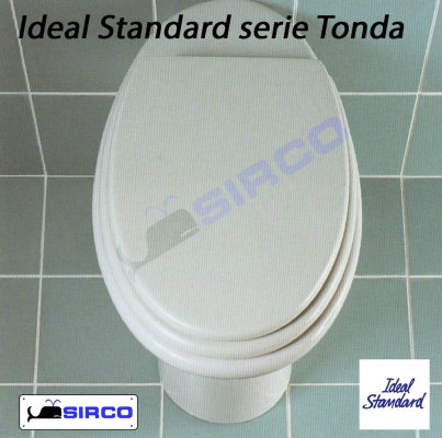 Sedile Wc Ideal Standard Serie Tonda.Sedile Tonda Bianco Varianti Ideal Standard Tonda Sirco Sas Arredo