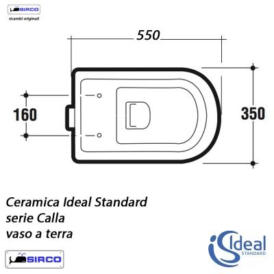 Serie Calla Scheda Tecnica Varianti Ideal Standard Calla Sirco Sas Arredo Bagno Biella Piemonte
