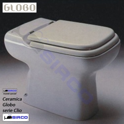 Sedile clio bianco varianti globo clio sirco sas arredo for Arredo bagno biella