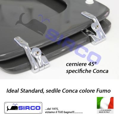Sedile conca fumo varianti ideal standard conca sirco sas for Conca ideal standard