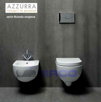 Nuvola paracolpi soft close originali varianti azzurra for Arredo bagno piemonte
