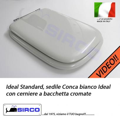 Ideal Standard Sedile Conca.Sedile Conca Cerniere A Bacchetta Bianco Varianti Ideal Standard