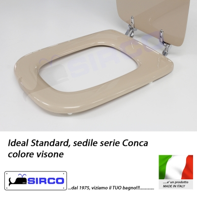 Sedile conca visone varianti ideal standard conca sirco for Ideal standard conca