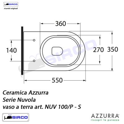 Azzurra Ceramica Schede Tecniche.Serie Nuvola Scheda Tecnica Varianti Azzurra Nuvola Sirco Sas Arredo