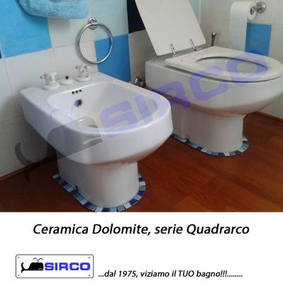 Dolomite serie quadrarco bianco varianti dolomite photogallery sirco sas arredo bagno biella - Dolomite arredo bagno ...