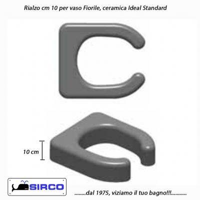 Tesi rialzo con coperchio varianti ideal standard rialzi - Rialzo per bagno ...