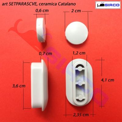 Gommini Per Sedile Wc.Per Copriwater Catalano Sedili Per Wc Ricambi Gommini Paracolpi