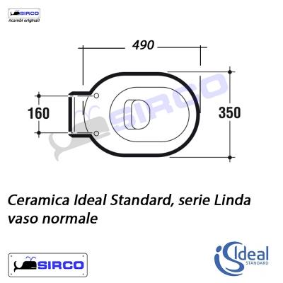 Serie linda scheda tecnica varianti ideal standard linda for Calla ideal standard scheda tecnica