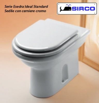 Per copriwater ideal standard sedili per wc ricambi for Sedile wc ideal standard esedra