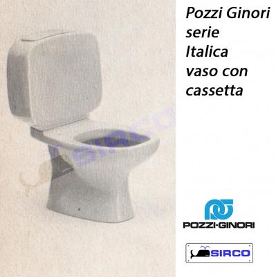 Italica batteria cassetta flusso doppio varianti pozzi - Richard ginori sanitari bagno ...