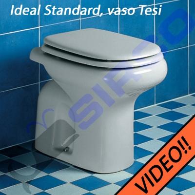 Sedile Tesi Ideal Standard Bianco Europa.Sedile Tesi Bianco Con Chiusura Rallentata Varianti Ideal Standard