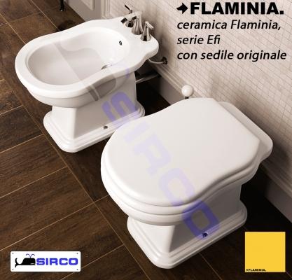 modello EFI SEDILI PER WC FLAMINIA Sedili per vasi FLAMINIA Sirco ...