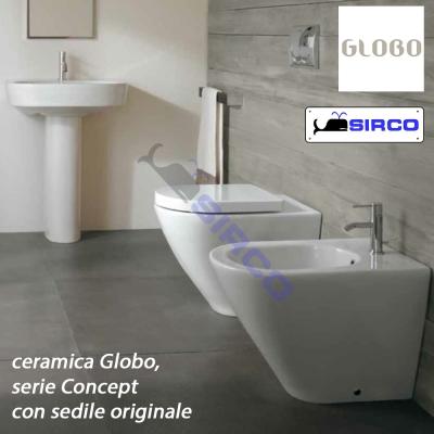 Ceramica Globo Concept.Concept Cerniere Soft Close Originali Varianti Globo