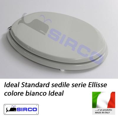 Modello ellisse sedili per wc ideal standard sedili per for Copriwater ellisse ideal standard