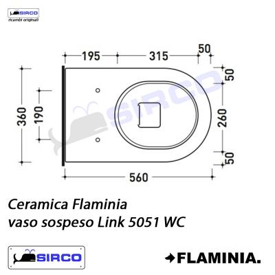 Ceramica Flaminia Schede Tecniche.Serie Link Scheda Tecnica Varianti Flaminia Link Sirco Sas
