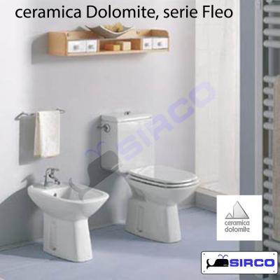 Ceramica Dolomite Serie Fleo.Fleo Rialzo Con Coperchio Varianti Dolomite Rialzi Sirco Sas Arredo