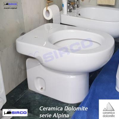 Ceramica Dolomite Serie Alpina.Dolomite Serie Alpina Vaso Bianco Varianti Dolomite