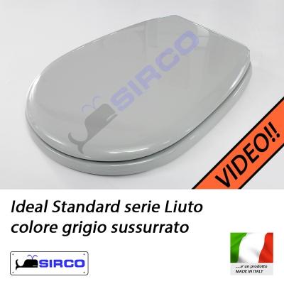 Sedile Wc Ideal Standard Liuto.Sedile Liuto Grigio Sussurrato Varianti Ideal Standard Liuto Sirco Sas Arredo Bagno Biella Piemonte