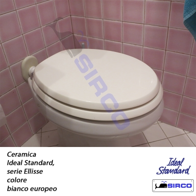 Ellisse bianco europeo varianti ideal standard for Ellisse ideal standard