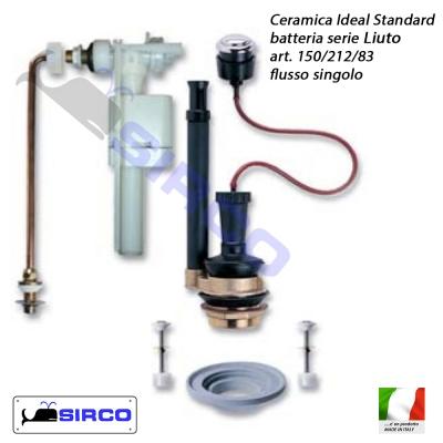 Liuto batteria per cassetta flusso singolo varianti ideal for Ideal standard liuto