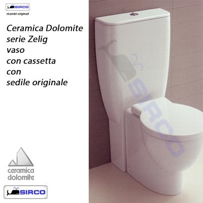 Ceramica Dolomite Serie Zelig.Zelig J100500 Paracolpi Originali Varianti Dolomite Paracolpi Sirco Sas Arredo Bagno Biella Piemonte