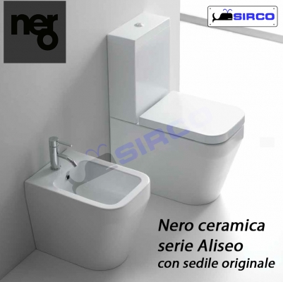 Nero Ceramica Aliseo Prezzi.Modello Aliseo Sedili Per Wc Tutte Le Marche Per Vaso Nero Ceramica