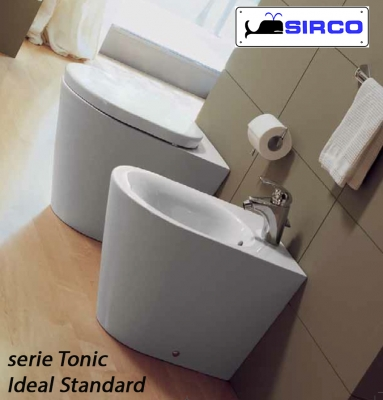 sedile tonic bianco originale varianti ideal standard tonic sirco sas arredo bagno biella piemonte. Black Bedroom Furniture Sets. Home Design Ideas