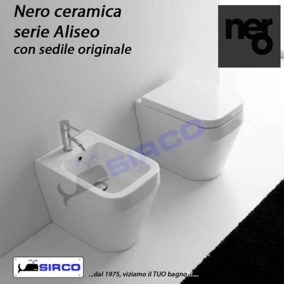 Sanitari Nero Ceramica Aliseo.Serie Aliseo Scheda Tecnica Varianti Nero Aliseo Sirco Sas