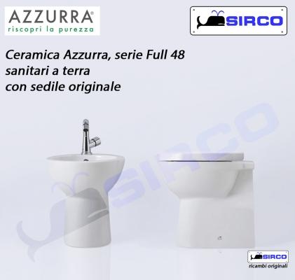 Ceramica Azzurra Full 48.Full 48 Cerniere Rallentate Originali Varianti Azzurra Cerniere