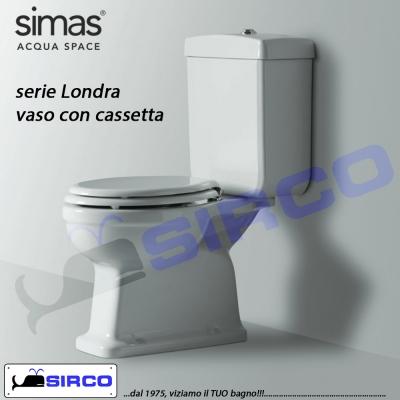 Modello londra old england sedili per wc tutte le marche per vaso simas sirco sas arredo bagno - Sanitari bagno old england ...