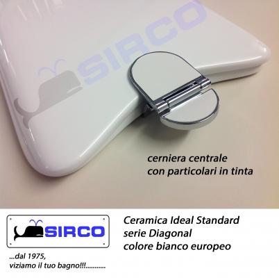 Sedile diagonal tutti i colori varianti ideal standard for Ideal standard diagonal