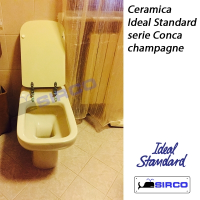 Conca champagne varianti ideal standard photogallery sirco for Wc colore champagne