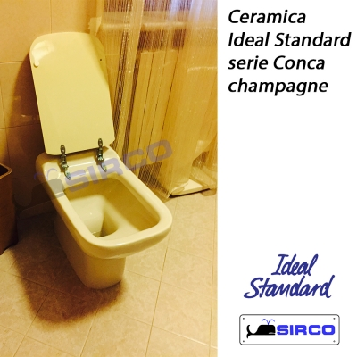 Conca champagne varianti ideal standard photogallery sirco for Serie conca ideal standard