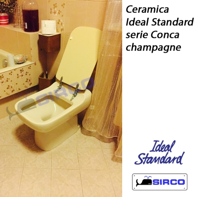 Conca champagne varianti ideal standard photogallery sirco for Ideal standard conca scheda tecnica