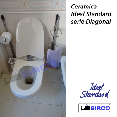 Diagonal bianco ideal standard varianti ideal standard for Ideal standard diagonal