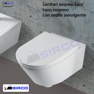 ALA vaso sospeso compatibile VARIANTI Ideal Standard SANITARI Sirco ...