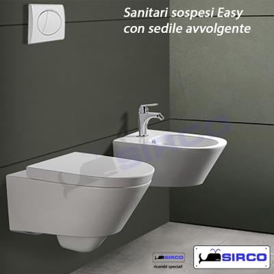 cambiare tavoletta wc sospeso gallery of wc water per