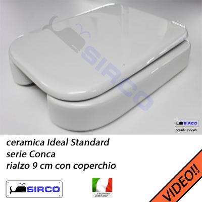 Conca rialzo con coperchio varianti ideal standard rialzi for Ideal standard conca prezzo